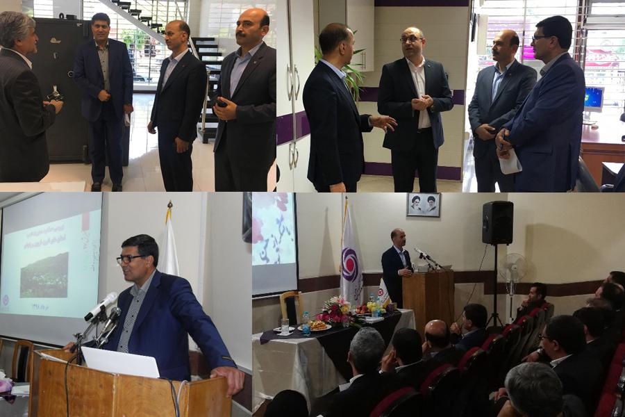بازدید معاون عملیات بانکی از شعب استان البرز